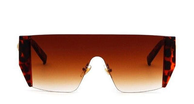 Jenna - Oversized Rimless Sunglasses - SunShutterz