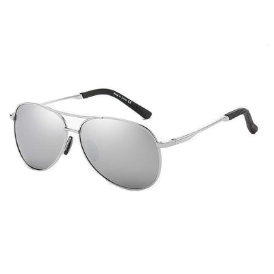 Rafael - Polarized Full Mirror Aviator Sunglasses - SunShutterz