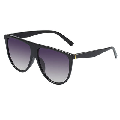 Kim - Flat Top Oversized Square Sunglasses - SunShutterz
