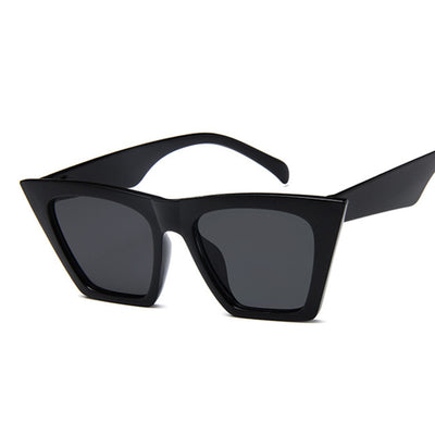 Francis - Square Cat Eye Sunglasses - Sunglass Society