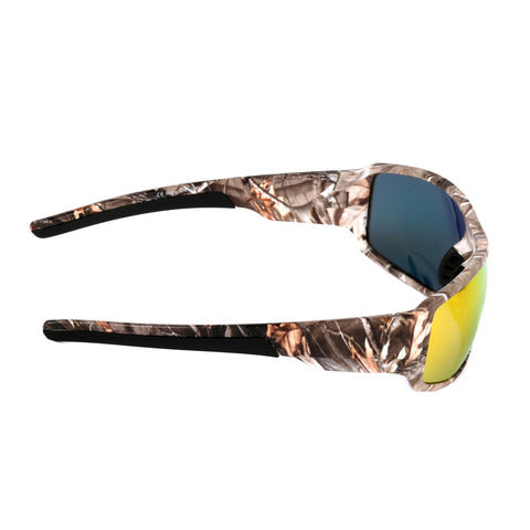Connor - Camouflage Sports Polarized Sunglasses - Red - SunShutterz