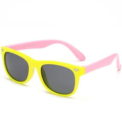 Flexible Polarized Kids' Yellow & Pink - SunShutterz