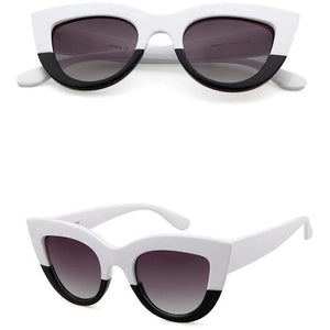 Ultimate Cat Eye Up White - SunShutterz