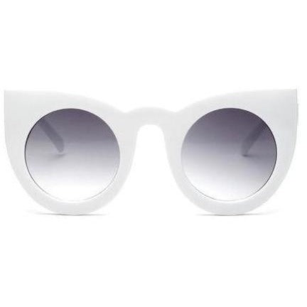 Vintage Cat Eye White - SunShutterz