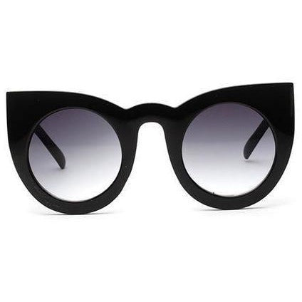Vintage Cat Eye Black - SunShutterz