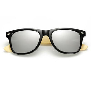 Retro Bamboo Black Silver - SunShutterz