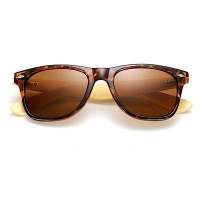Stephen - Retro Bamboo Polarized Sunglasses - Leopard - SunShutterz
