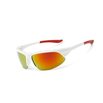 Dallas - Outdoor Sports Polarized Sunglasses - Gold & White - SunShutterz
