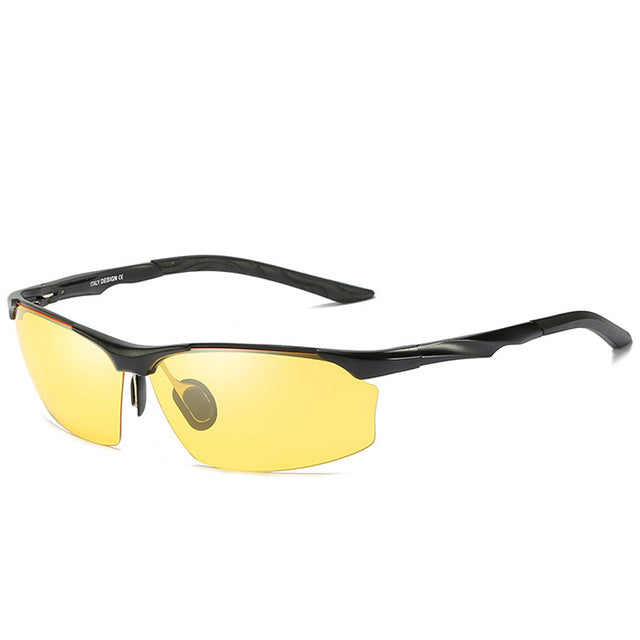Polarized Aluminum Magnesium Yellow Night - SunShutterz
