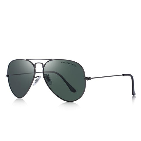 Blake - Classic Pilot Polarized Sunglasses - SunShutterz