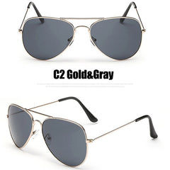 Georgina - Gradient Aviator Sunglasses - Sunglass Society