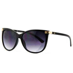 Gracie Black Gradient Cat Eye AEVOGUE Sunglasses - SunShutterz