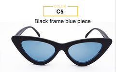 Eve - Small Frame Narrow Cat Eye Sunglasses for Women - Sunglass Society
