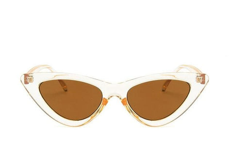 Katherine - Transparent Cat Eye Sunglasses - Sunglass Society