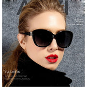 Tiffany - Retro Oval UV Sunglasses - Sunglass Society