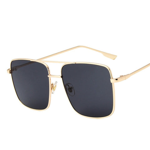 Louise - Retro Square UV Sunglasses - Sunglass Society