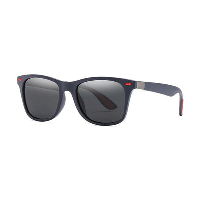 Leon - Colorful Square Polarized Sunglasses - Sunglass Society