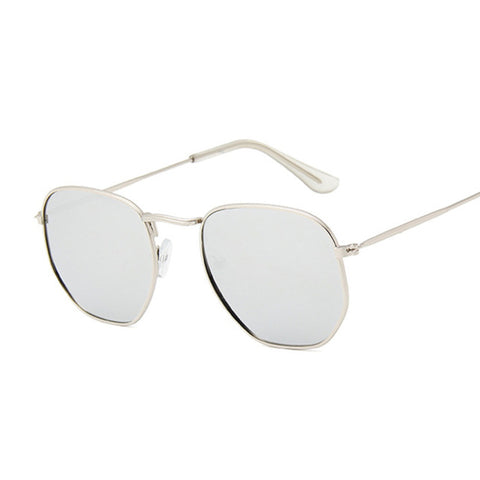 Quinn - Hexagon Metal-Frame Sunglasses - SunShutterz