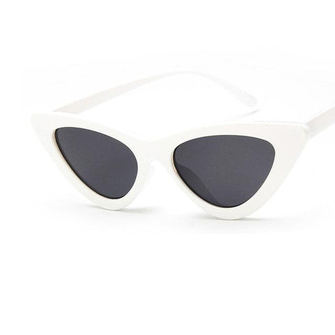 Mia - Cat Eye Triangle Frame Sunglasses - SunShutterz
