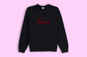 AMOUR black sweater