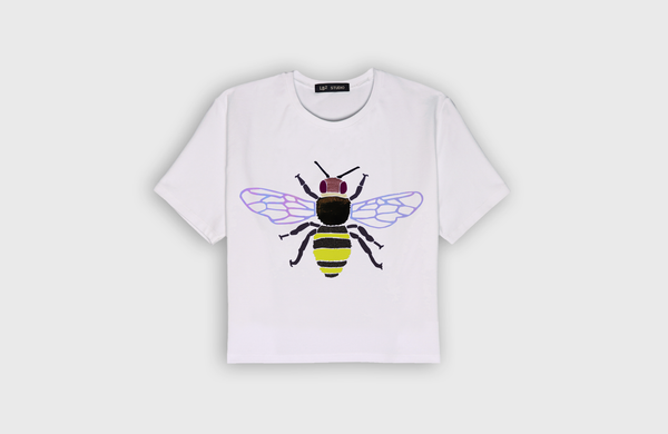 BEE - cropped t-shirt