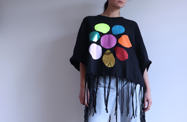 BIG FLOWER - Oversized t-shirt - LB2 Studio
