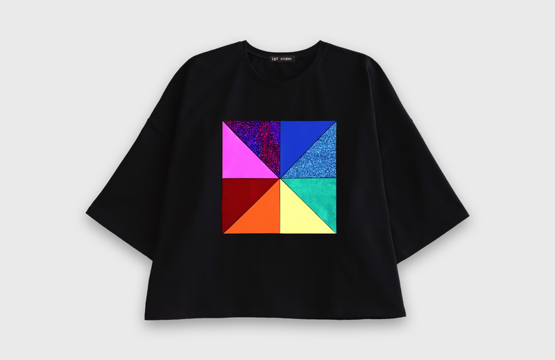 CHROMA - oversized t-shirt - LB2 Studio