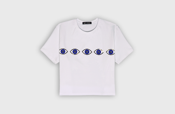 EYES - cropped t-shirt