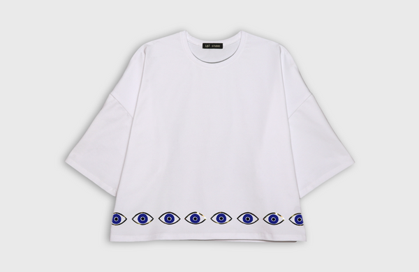 EYES - oversized t-shirt - LB2 Studio