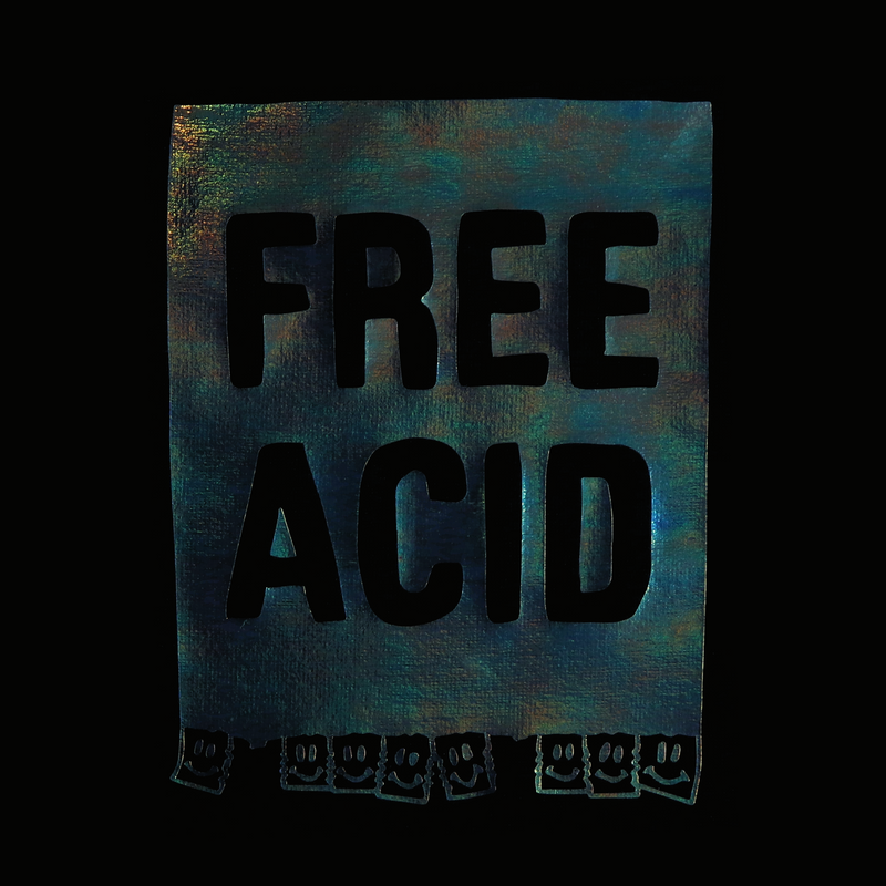 FREE ACID - oversized t-shirt - LB2 Studio