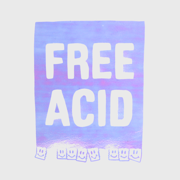 FREE ACID - oversized t-shirt