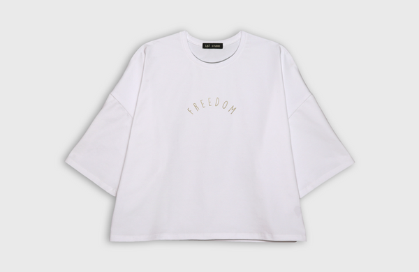 FREEDOM - oversized t-shirt - LB2 Studio
