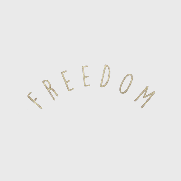 FREEDOM - cropped t-shirt