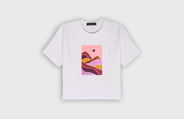 LANDSCAPE - cropped t-shirt