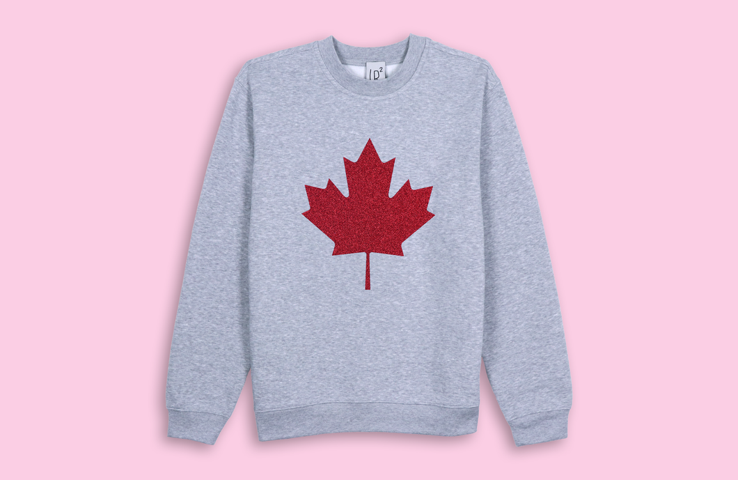 MAPLE LEAF grey sweater