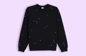 MOON DOTS black sweater