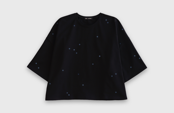 MOON DOTS - oversized t-shirt - LB2 Studio