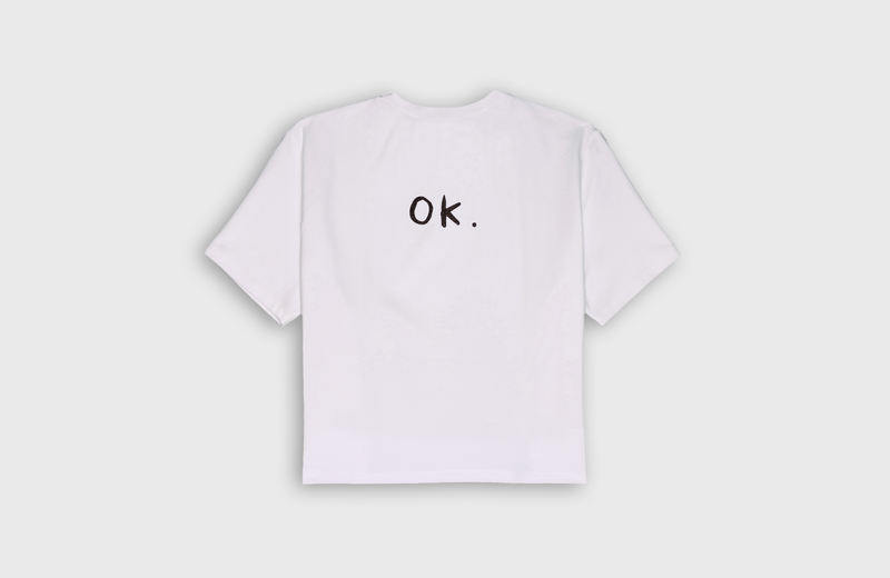 OK. - cropped t-shirt
