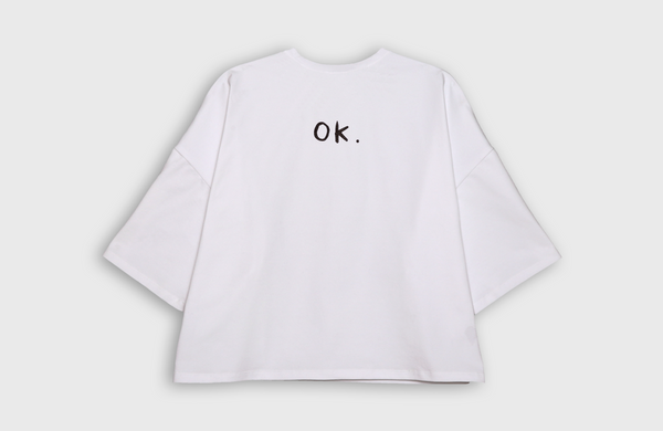 OK. - oversized t-shirt - LB2 Studio