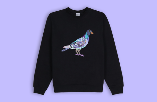 PIGEON black sweater