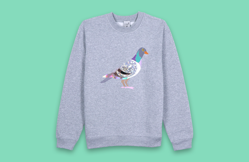 PIGEON grey sweater