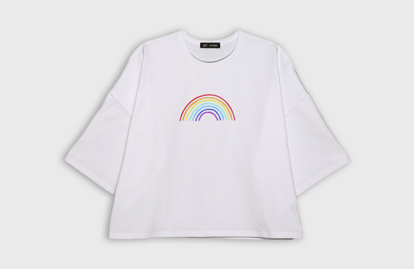 RAINBOW - oversized t-shirt - LB2 Studio