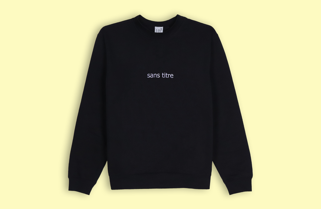 SANS TITRE black sweater