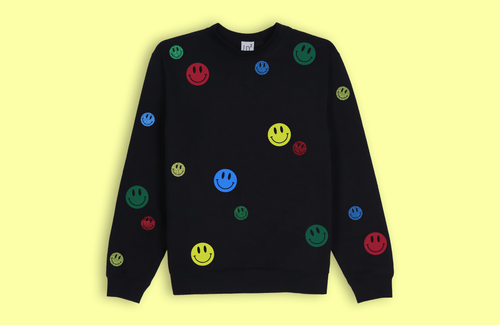 SMILEYS black sweater
