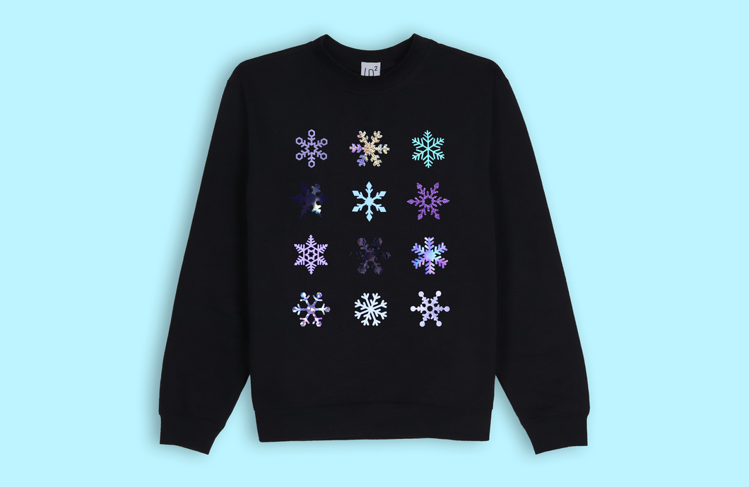 SNOWFLAKES black sweater