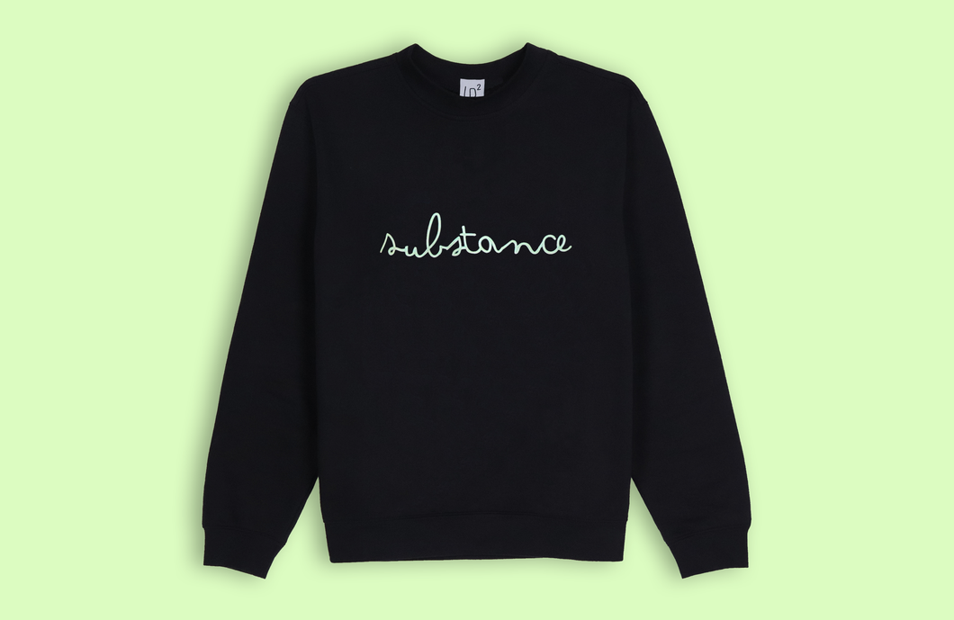 SUBSTANCE black sweater