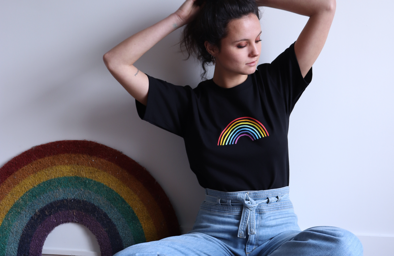 RAINBOW - t-shirt - LB2 Studio