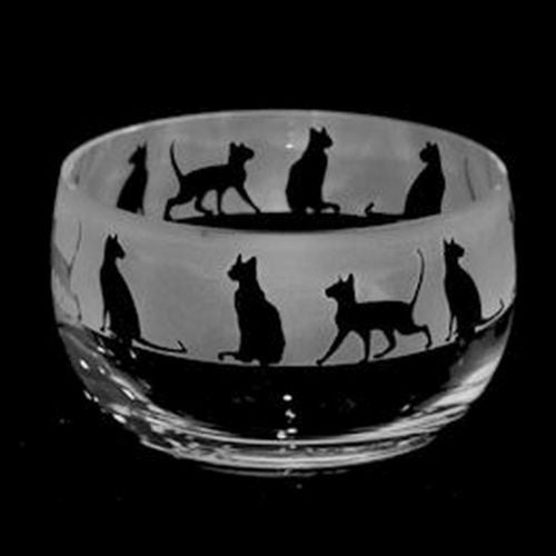 The Milford Collection - Amino Glass  - Small Crystal Glass Bowls