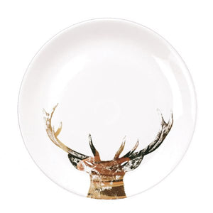Little Weavers Art - Majestic Stag - Gold Plates From £20