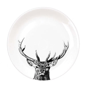 Little Weaver Arts - Plates - Sassy Hare, Crafty Coo, Pheasant, Labrador, Otter, Majestic Stag, Imperial Stag, Donkey